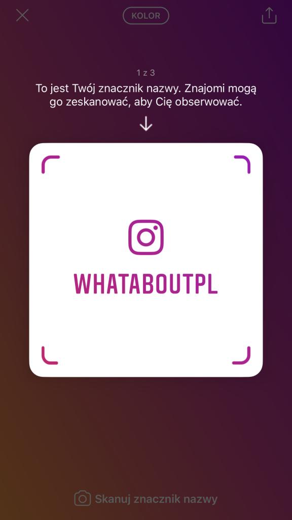 Nametag - Instagram