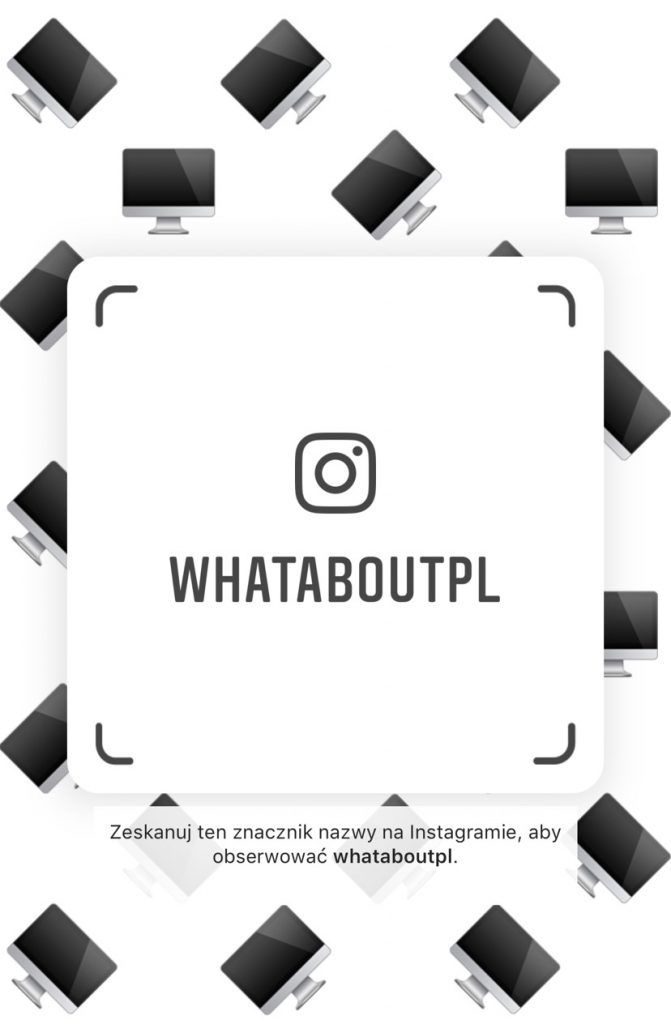 Nametag Instagram - What About